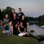 My beautiful family-missing 2 of my older boys Brian and Shayne